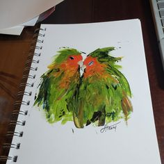 Created this sweet #lovebirds painting on paper and just fell in love so I plan to paint more. You know #valentinesday will be here soon. I wish I'd videoed it... but I didn't. Lesson learned. . . #lauriehenryart #pushinglimits #originalart #galleryart #interiordecor #artwork #atlantaartist #artcollector #creativejourney #georgiaartist #acrylicpainting #happyart #artcollector #artforlife #arttherapy #paintingoftheday #blickartsupplies #shopsmall #supportsmallbusiness #fineart #fineartsale Original Paintings, Original Art, Happy Art, Love Birds, Abstract Landscape, Art Gallery, Fine Art, The Originals, Paper