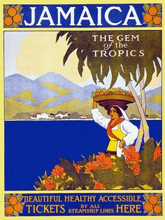 Jamaica 'The Gem of the Tropics'  c.1910s  http://www.vintagevenus.com.au/vintage/reprints/info/TV261.htm