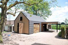 ORGA architect, sustainable architecture (Project) - Ecologisch bijgebouw met mooi houten lijnenspel - PhotoID #242553