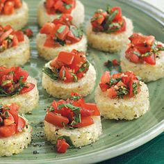 This recipe goes with Grits Bruschetta with Tomato Salsa. This recipe goes with Grits Bruschetta with Tomato Salsa Tomato Salsa Recipe, Brunch, Egg Sandwiches, Mexican Food Recipes, Ethnic Recipes, Fresh Mozzarella, Snacks, Poached Eggs, Vegetarian Cheese