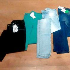 Calças jeans (Marcas Top) só 49,99 ?? Acabou de chegar na Container Outlet T.O calças jeans femininas do 34 ao 42, apenas 49,99! Corre meninas.. peças limitadas..#vemprocontainer  #ContainerOutlet #modafeminina  #Compras #jeans #Grandesmarcas #pequenospreços