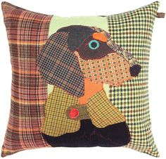 Carola van Dyke - Franz the Dachshund Cushion
