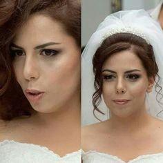 Bridal Makeup gelin makyaji www.tugceyildiz.com
