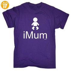Fonfella SlogansHerren T-Shirt, Slogan Violett Violett - Shirts mit spruch (*Partner-Link)