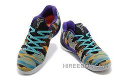 7ab3fcc576c2 Nike Kobe Ix Em Low Womens Tiger Purple Gray Yellow Lastest