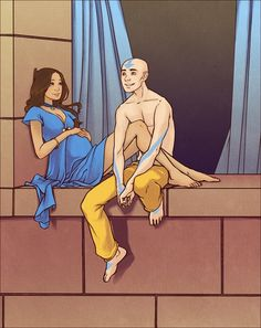 THERE HAD BETTER BE FLASHBACKS LIKE THIS IN THE LEGEND OF KORRA.
