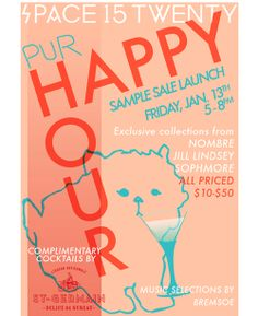 Happy hour invite wording samples invitation templates happy space15twenty happy hour invite stopboris Images