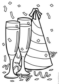 2016 new years eve coloring pages ~ 43 Best Coloring: Holidays images in 2019 | Coloring pages ...