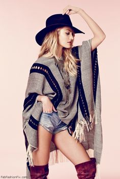 Candice Swanepoel is bohemian chic for Free People 2014 Catalog