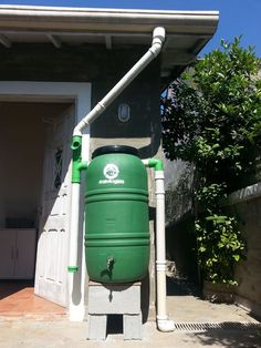 "Excellent ""rainwater harvesting architecture"" detail is offered on our web pages. Read more and you wont be sorry you did. Water Collection System, Rainwater Harvesting System, Water From Air, Rain Barrel, Water Storage, Backyard, Patio, Water Tank, Home Improvement"