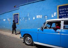 Peugeot 404 in Harar - Ethiopia by Eric Lafforgue, via Flickr