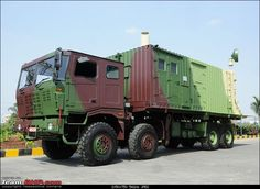 NEW DELHI: Tata Motors has offered its latest vehicles to the Defence Ministry to replace the controversial Tatra trucks, used so far to carry missiles. Tata Motors, Military Vehicles, Automobile, Army, Trucks, Twin, Hardware, Indian, Image