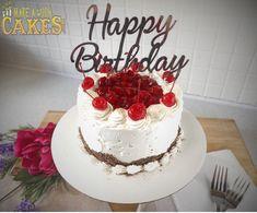 "🍒 I have to say ""I'm completely falling in Love with these little cakes"" #somethingtocelebrate #makeawishcakes #blackforestcake"