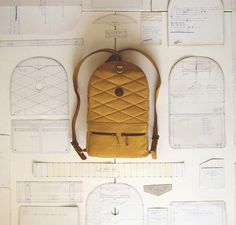 """designbinge: """" Two Faces, One Bag Designers: Andrew & Alex """"Details we like / Backpack / Rucksack / Prozess / Cuting paterns / at Design BingeIntroducing the first ever, two-sided, leather backpack. It& called the Backpack and it& handsomely handcraft Leather Backpack Pattern, Leather Pattern, Sacs Tote Bags, Backpack Bags, Mochila Tutorial, Sac Vanessa Bruno, Backpack Tutorial, One Bag, Handmade Bags"""