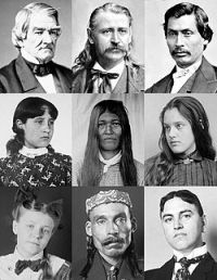"""Cherokee People. The Cherokee Indians are a Native American tribe and the largest tribe in the U.S. The name Cherokee comes from a Muskogean word that means """"speakers of another language"""". Before Europeans journeyed to the New World, the Cherokee lived in the areas of North Carolina, South Carolina, Georgia, Alabama, and Tennessee. A typical village of the Cherokee would include around thirty to fifty families. #nativetribe #historyliving #nativeamericans"""