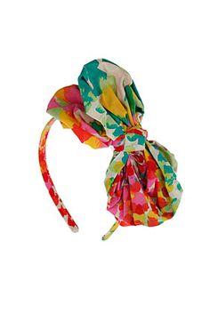 Haarreifen Mit Stoffschleife Mehrfarbig - Stirnbänder - Haar-Accessoires  - Taschen & Accessoires