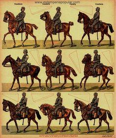 Pliegos de soldados Schreiber de Esslingen IV |