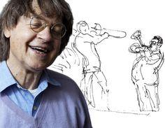 SOURCE LA DÉPÊCHE.FR..........CABU est un dessinateur de bande dessinée et caricaturiste français né à Châlons-en-Champagne (Marne) le 13 janvier 1938. Il rencontre un grand succès dans les années 1970/1980 et publie de nombreux albums. Il oriente alors son art vers la caricature politique en dessinant pour le nouveau Charlie Hebdo à partir de 1992, et pour Le Canard enchaîné où il y a transposé le Grand Duduche...........