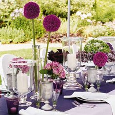 wedding table settings