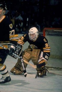 Boston Bruins Goalies, Goalie Mask, Ice Hockey, Nhl, Baseball Cards, History, Sports, Masks, Vintage