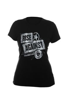 Rise Against Patched-Up Girls T-Shirt | Hot Topic
