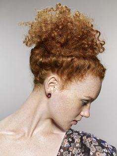 Side Twist (Looks awesome with curly hair!)