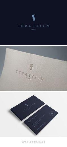 The Sebastien Logo Design Kit available from Logo.Haus.
