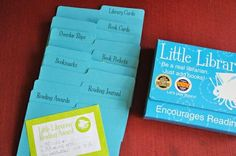 Little Librarian pretend play kit... I Want One!!