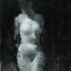 #art #terrymiura #gesture #anatomy #painting #oilpainting #figurepainting #abstraction #moody #tonal #instaart #instagood #contemporaryart #blackandwhite #monochrome by terrymiura