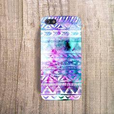 """Pastel"" Aztec Watercolour Phone Case | CasesByCsera"