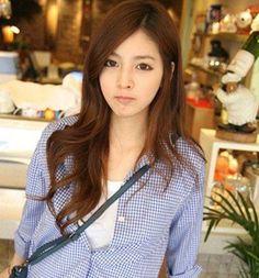 Forest Department wonderful girls long hair tide girl is you | Asian & Korean hairstyle | Men, Girls & Boys