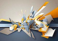 Digital work by DAIM