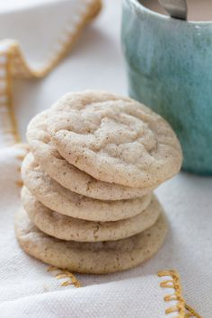 Chai Spice Snickerdoodles - Jelly Toast - #everythingfall #recipe #cookie