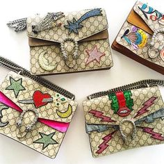 Gucci embellished Dionysus bags are a must have of the season. See the full selection at closetonthego.com