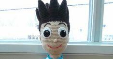 L'accroche laine - Tutoriel Ryder de la Pat Patrouille au crochet Ryder Pat Patrouille, Knit Crochet, Crochet Hats, Paw Patrol, Dragon Ball, Creations, Alice, Knitting, Naruto