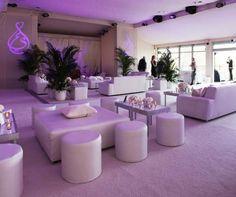 Formal Wedding, Cream, White, Orange, Reception Décor, Wedding After Party, Real Wedding || Colin Cowie Weddings
