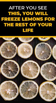 After You See This, You Will Freeze Lemons for the Rest of Your Life Health Trends, Health Tips, Health And Wellness, Health Care, Herbal Cure, Herbal Remedies, Home Remedies, Avocado Health Benefits, Natural Cold Remedies