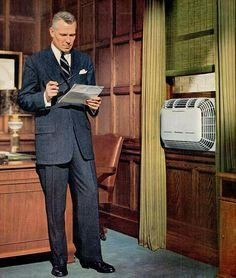 Andrew D Cooper Co Inc, Air Conditioner & Furnace Repair & Service Carrier Air Conditioner, Window Air Conditioner, Kickin It Old School, Vintage Air, Vintage Windows, Heating And Air Conditioning, Long Time Ago, My Dad