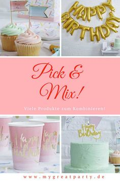 """Party Inspiration: Neue Partyserie """"Pick and Mix"""" Party Mottos, Pick And Mix, Teenager, Place Cards, 21st, Place Card Holders, Blog, Inspiration, Invitations"""