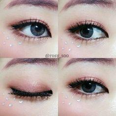 Eye Makeup Tips – How To Apply Eyeliner – Makeup Design Ideas Korean Makeup Look, Korean Makeup Tips, Korean Makeup Tutorials, Asian Eye Makeup, Makeup Inspo, Makeup Inspiration, Beauty Makeup, Makeup Eyeshadow, Eyeshadows