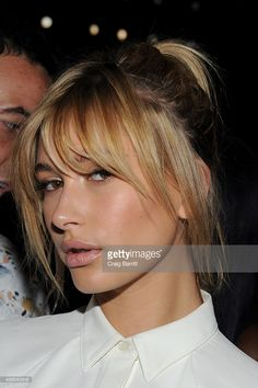 Model Hailey Baldwin attends Public School Spring 2016 during New York Fashion Week: The Shows at The Arc, Skylight at Moynihan Station on September 13, 2015 in New York City.