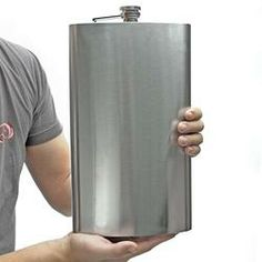 Yes, Sir!!  Great Gifts for Men|Sasquatch 128oz Extremely Large Flask (Engravable)  $29.95