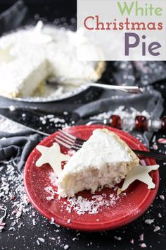 My grandmothers white Christmas pie is simplicity in a pie dish and that may be what makes it so beautiful and delicious! Pie Recipes, Baking Recipes, Dessert Recipes, Dessert Ideas, Christmas Desserts, Christmas Baking, Christmas Recipes, Christmas Treats, Desert Recipes