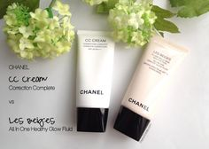 #Chanel CC Cream vs Les Beiges Review by #PrettyGossip. Click through for details.
