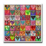 """I """"heart"""" quilts"""
