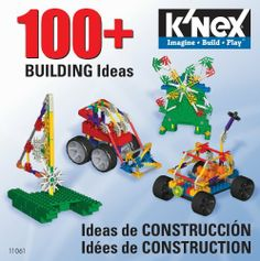 K'Nex 100+ Building Ideas (CD) by K'NEX. $9.99. Includes 100+ ideas and step by step instructions. Great ideas for including Knex bricks. Excellent gift for builders. Perfect for all skill levels and kids ages 5 and above. From the Manufacturer Looking for even More cool models to build with your Knex pieces? This book has them. There are over 100 building ideas inside that use the entire Knex building system to create amazing builds. ...