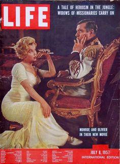 Marilyn Monroe - Life Magazine [United States] (July 1957)