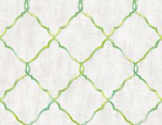 Geo Trellis Citrus NH11202 Oriental Wallpaper, Geometric Wallpaper, Minimalist Wallpaper, All Wall, Compliments, Hand Painted, Simple Pattern, Crafts, Trellis