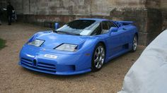 Before the Veyron came this. The 612hp EB110 is a V12-engined, four-wheel-drive supercar built betwe... - Motoring Research