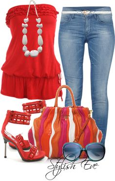 """I love everything about this outfit, Except the """"Wilma"""" necklace.    """"Noha"""" by stylisheve on Polyvore"""